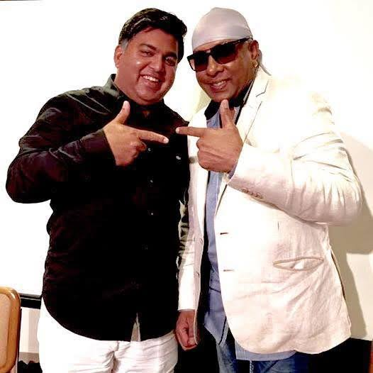 Anurag Harsh with Sivamani